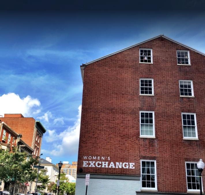 Women's Industrial Exchange located at 333 N. Charles Street.