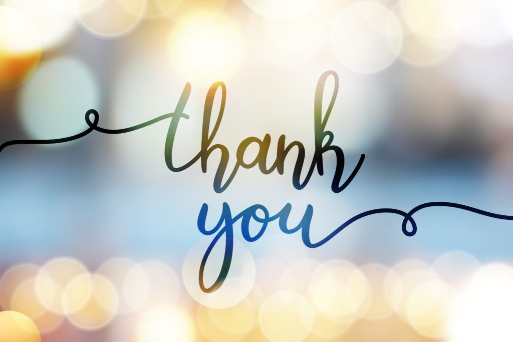 Thank You to Our Donors & Volunteers